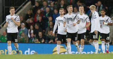 L'Allemagne est allé gagner en Irlande du Nord