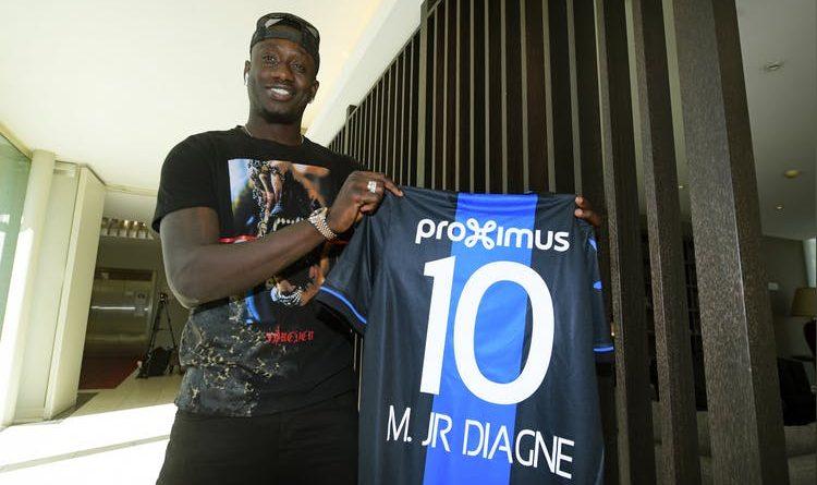 Mbaye Diagne au Fc Bruges