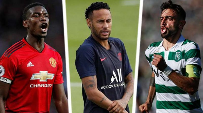 Pogba, Neymar et Bruno Fernandes font partie des grands perdants du mercato
