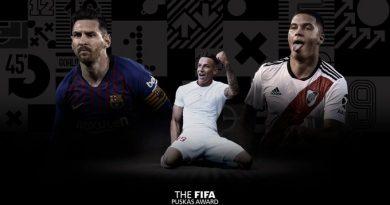 les 3 finalistes pour le Prix Puskás de la FIFA