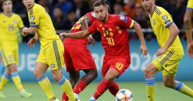 Belgique s'impose tranquillement face au Kazakhstan