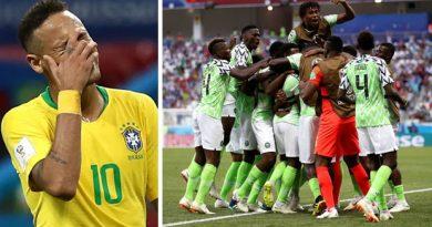 bresil 1-1 nigeria