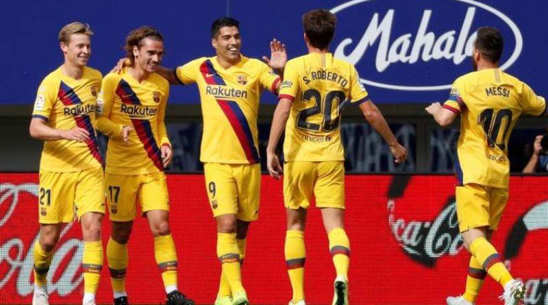 la MSG porte le Barça à Eibar