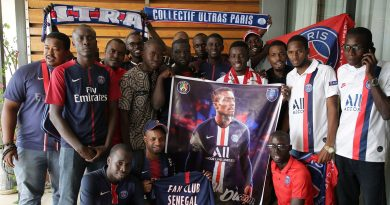 Idrissa Gueye à la rencontre du Fan Club Sénégal