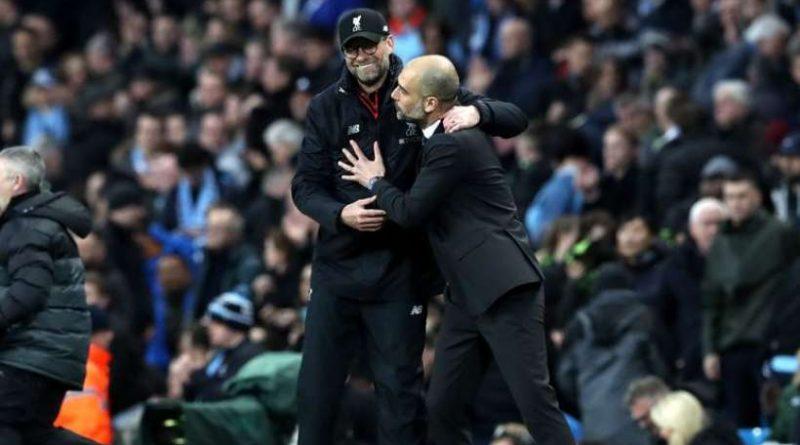 Jürgen Klopp et Pep Guardiola vont se retrouver dimanche à Anfield Road