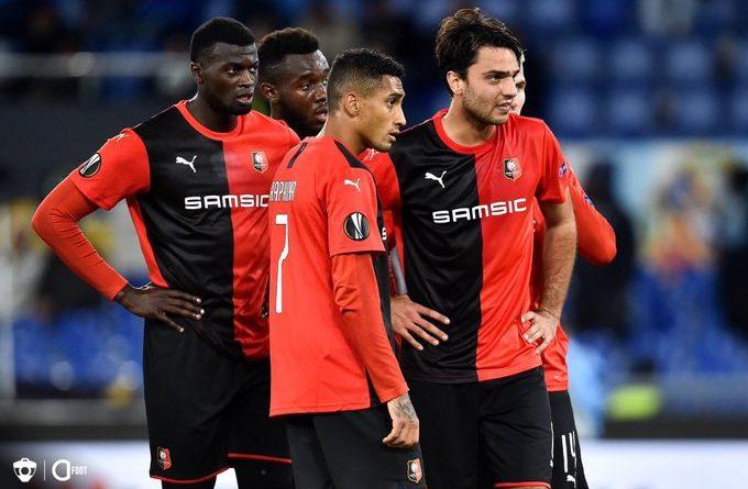 Le Stade Rennais est officiellement éliminé de l'Europa League
