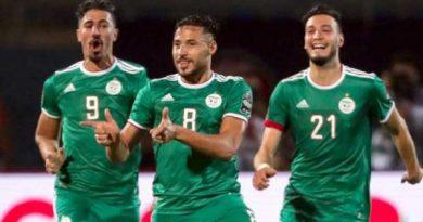 l'Algérie domine le Botswana