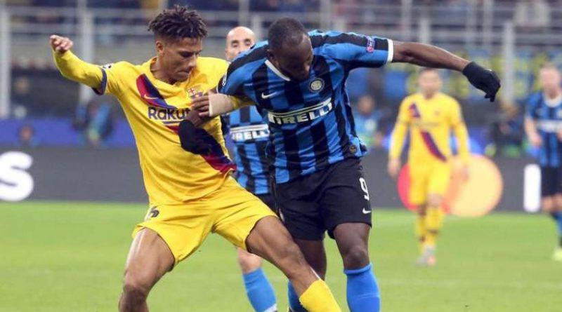 Malgré un bon Romelu Lukaku, l'Inter a perdu face au Barça