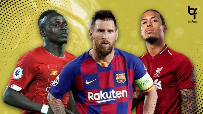 Messi, Mané et Van Dijk