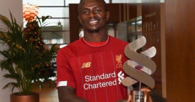 sadio mane meilleur player novembre 2019