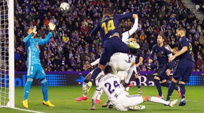 Casemiro pensait ouvrir le score face à Valladolid