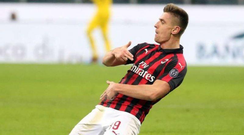 Krzysztof Piatek ne brille plus avec l'AC Milan