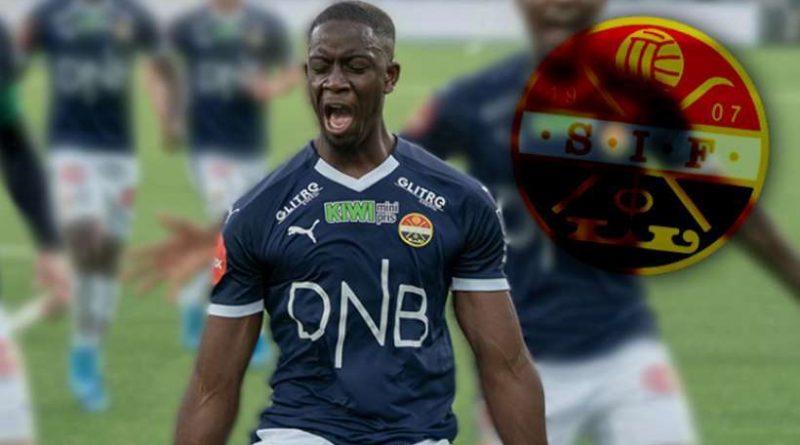 Prosper Mendy en championnat avec Strømsgodset