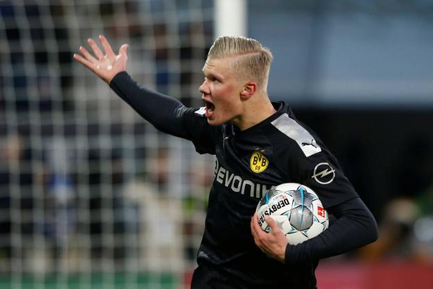 le Borussia Dortmund et Håland