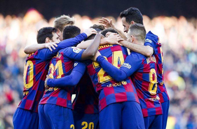 Liga : Cinq joueurs du Barça testés positifs au coronavirus