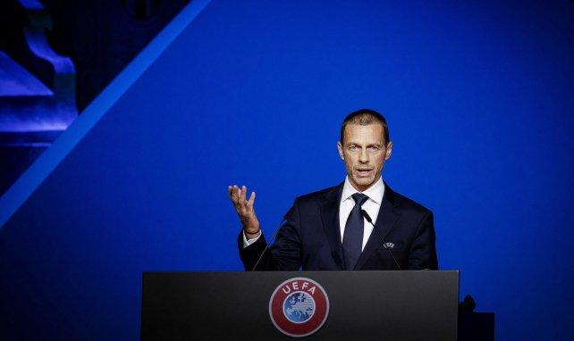 Super League : le président de l'UEFA Ceferin fait une annonce choc !