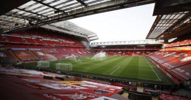 Anfield Road, le stade de Liverpool