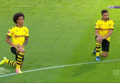 Vidéo : Un hommage à George FLoyd lors du match Dortmund vs Herta Berlin !