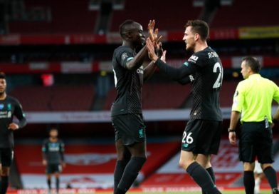 PL , Arsenal 2-1 Liverpool : Le but de Sadio Mané !