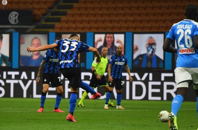 Les hommes d'Antonio Conte s'imposent et reprennent la seconde place