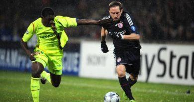 Lamine Gassama face à Franck Ribéry