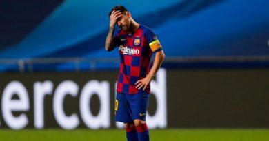 Lionel Messi après la cinglante défaite face au Bayern Munich