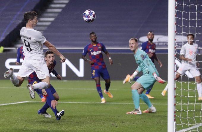 LDC , Barca 2-8 Bayern Munich : Démonstration de force des Bavarois !