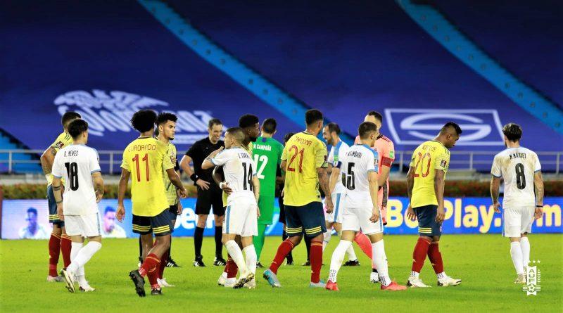 l'Uruguay punit la Colombie