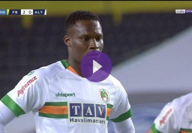 Vidéo , Superlig : Fenerbahce 2-1 Alanyaspor : But de Babacar Khouma !