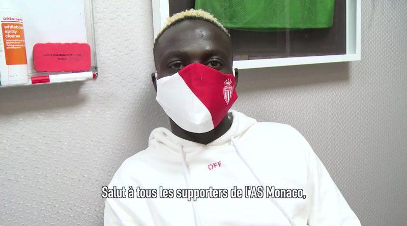 Vidéo , Monaco : les premiers mots de Krépin Diatta