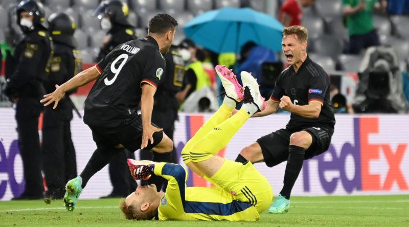 EURO 2020 : l'Allemagne se qualifie et affrontera l'Angleterre en huitièmes