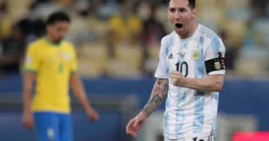 Copa America : Lionel Messi dédie la victoire à sa famille