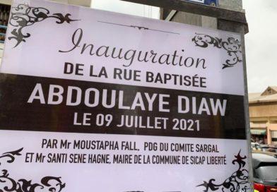 Baptême de la rue «Abdoulaye DIAW» : Revivez la déclaration du doyen Laye Diaw