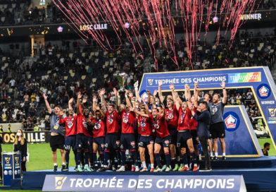 Lille s'offre le PSG et remporte son premier Trophée des Champions